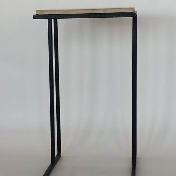 (F) Side Tables Steel and Solid wood tops From R1600, ST-1